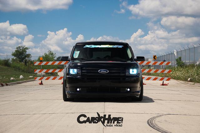 CarsHype.com | Bagged Ford Flex | Domestic VIP