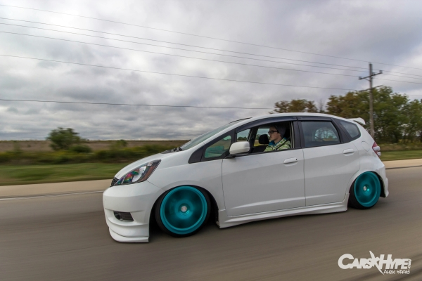 Now Onto Nicks FIT Its A 2013 Honda Fit Sport He Bought It New In March Said I Wanted An STi Hatch Always Have But Quickly Found Out