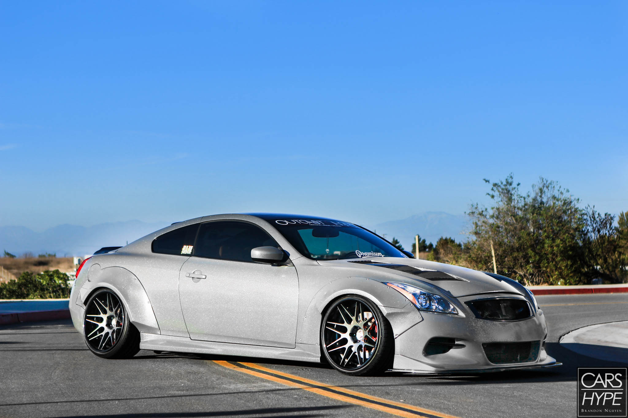 2cs Widebody Infiniti G37 on lancer car body kits